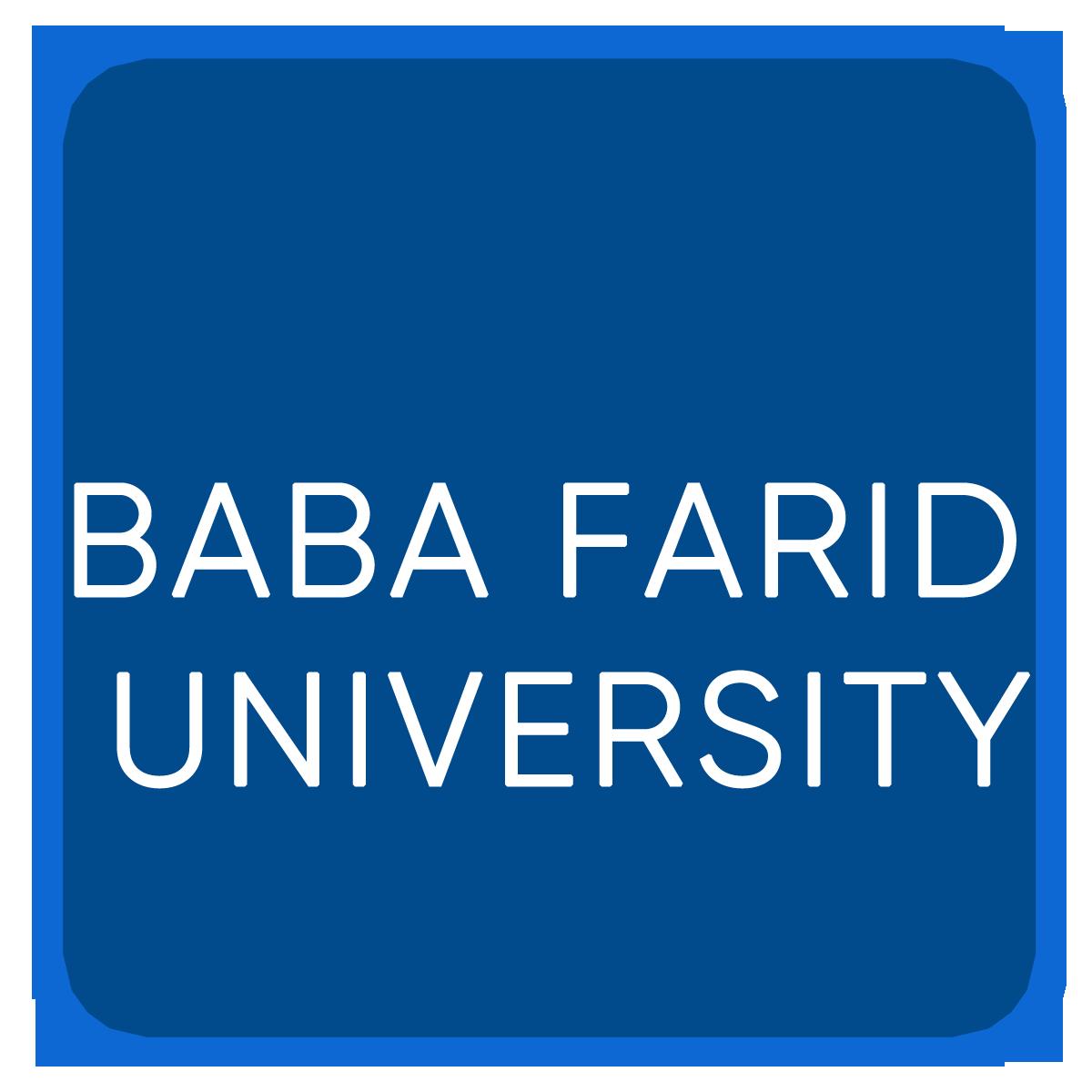 BABA FARID UNIVERSITY