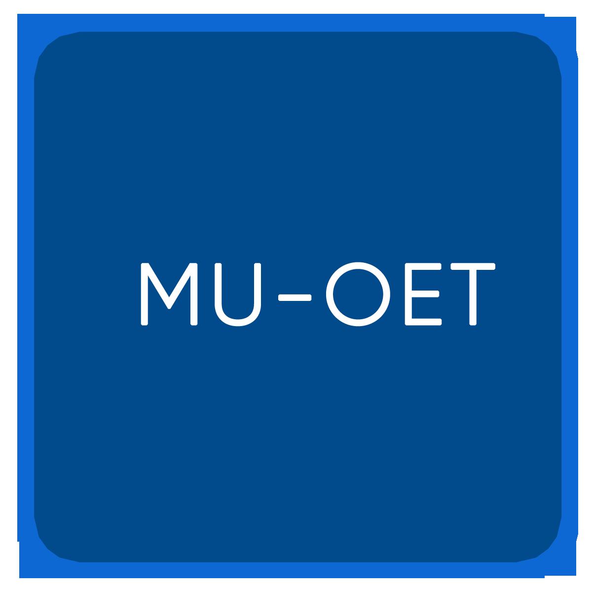 MU-OET
