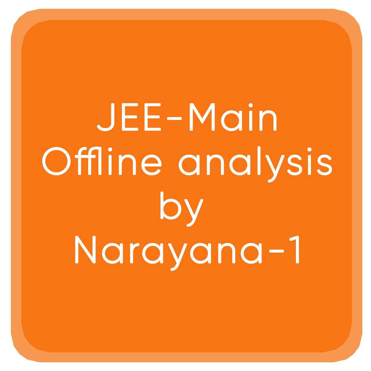 JEE-Main-Offline-analysis-by Narayana-1