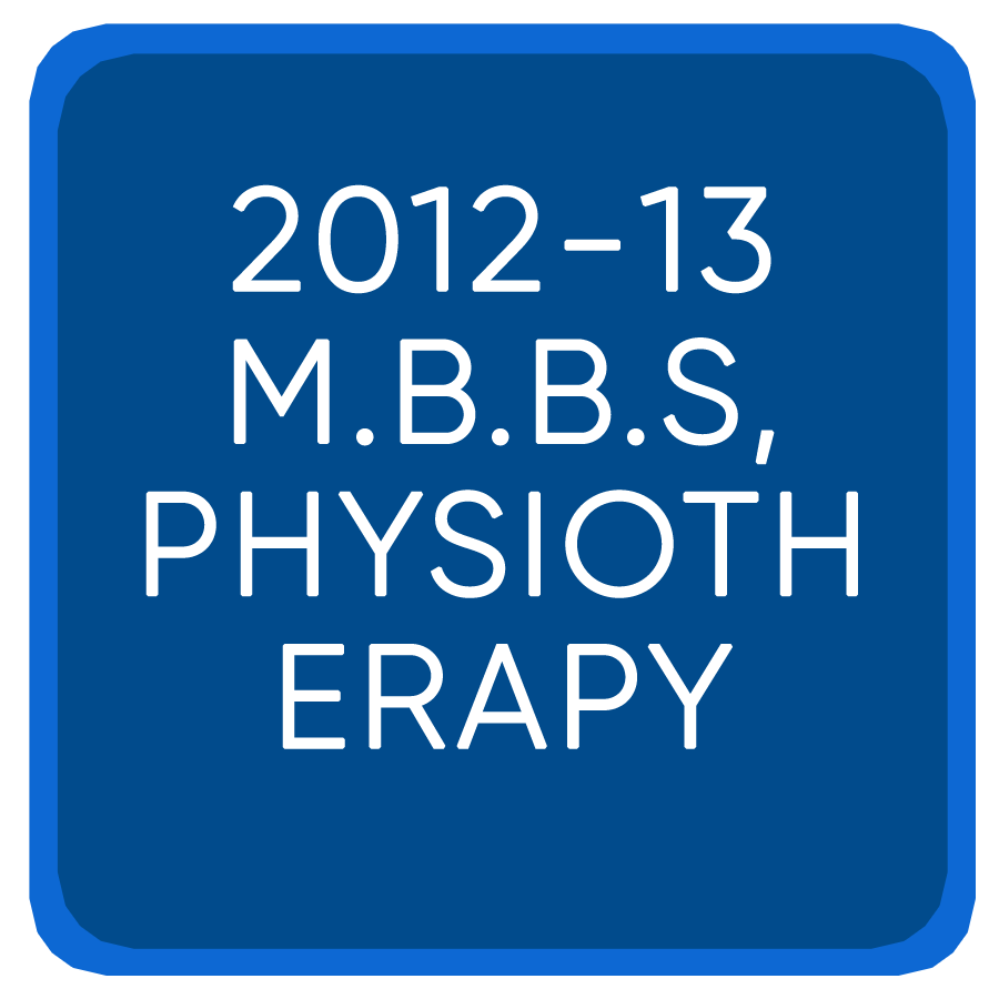 Jee Mains2012-13 M.B.B