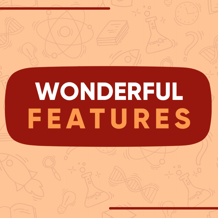 Wonderful Features Hover